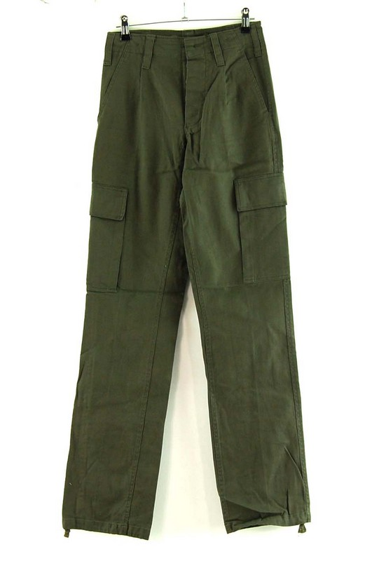 Front of Army Surplus Moleskin Trousers