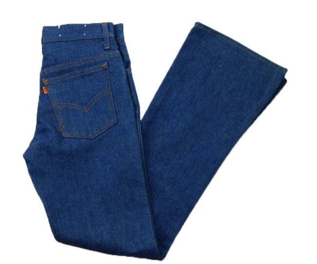 Deadstock Levis 746-0618 Denim Bootcut Jeans