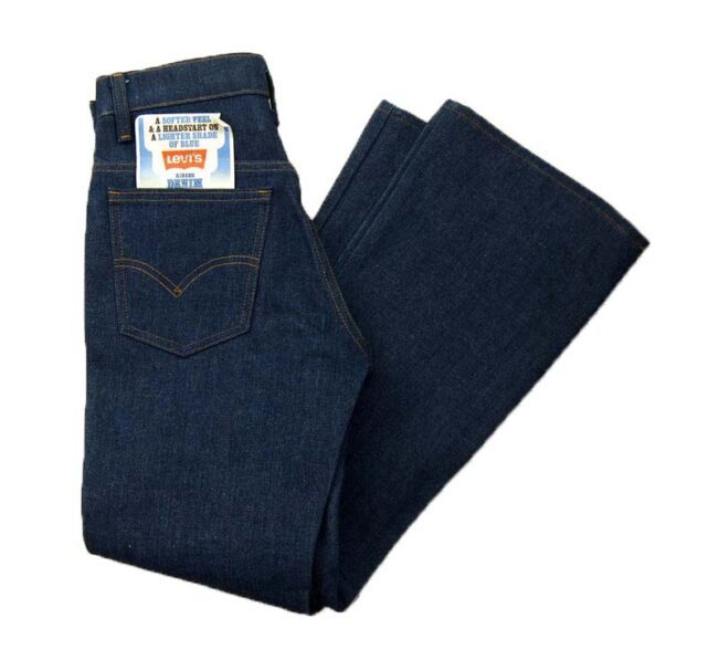 70s Levis 746-0917 Rinsed Denim Student fit Jeans