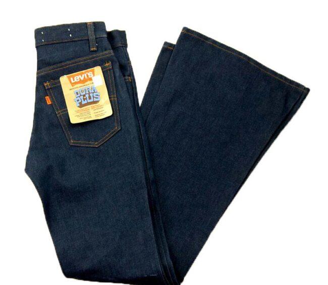 70s Deadstock Levis 784-0917 Jeans Dura Plus Bell Bottom
