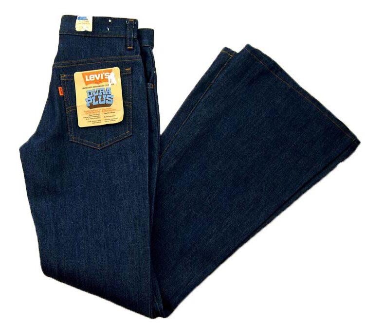 70s Deadstock Levis Jeans Dura Plus Bell Bottom