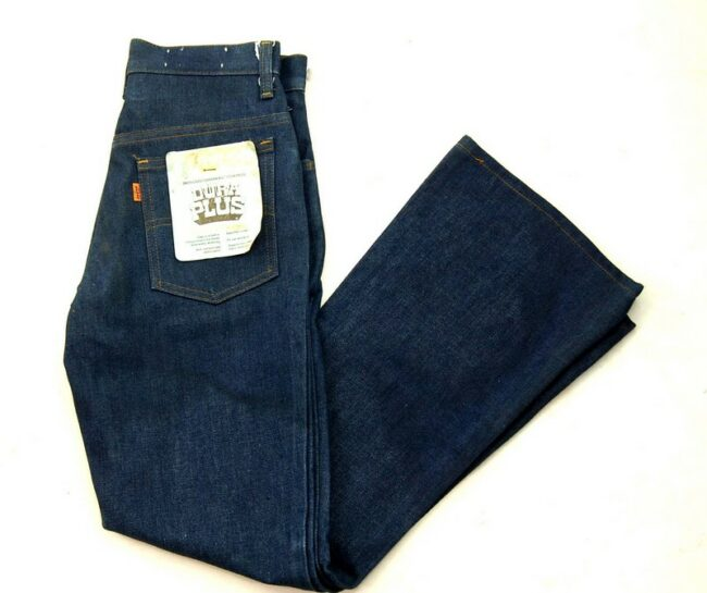 70s Deadstock Dura Plus Levis 784-0917 Flared Jeans