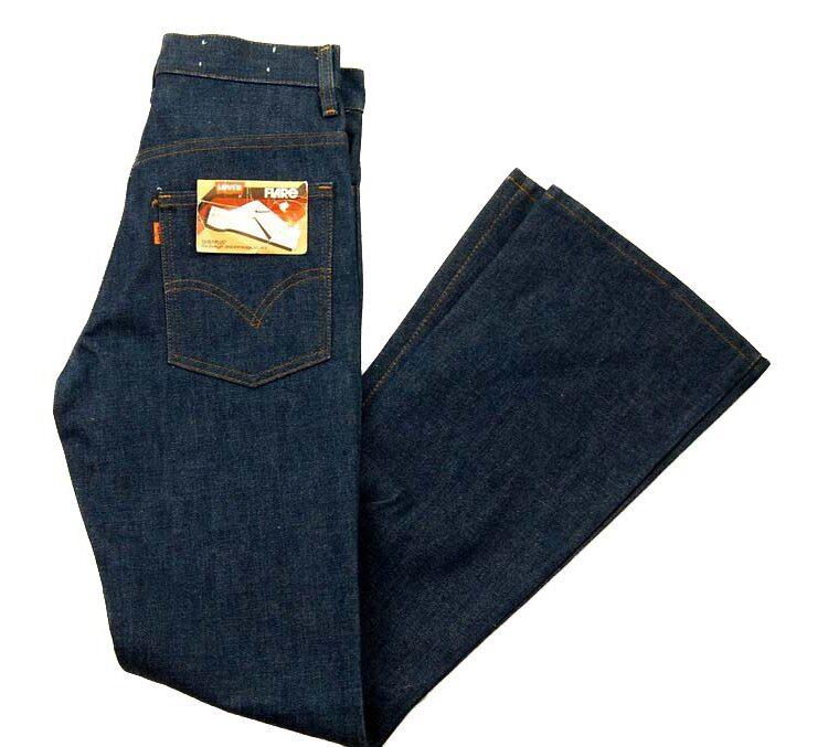70s Deadstock Dura Plus Levis 746-0917 Bootcut Jeans – 27W x 28L