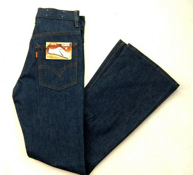 70s Deadstock Dura Plus Levis 746-0917 Bootcut Jeans