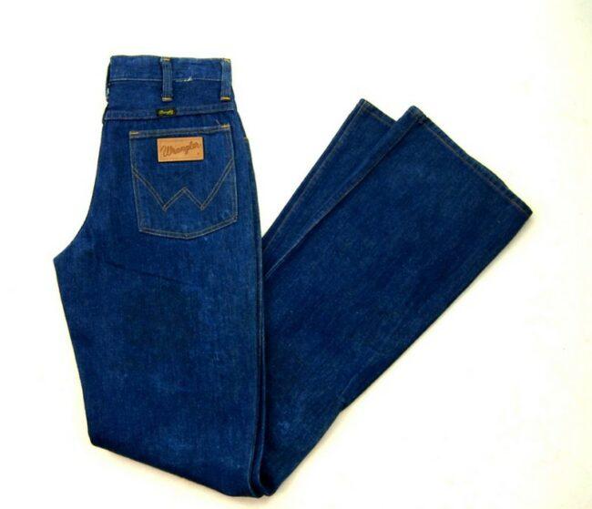 70s Deadstock Wrangler Bootcut Jeans 945 Long