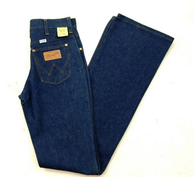 70s Wrangler Bootcut Jeans Student Fit Deadstock