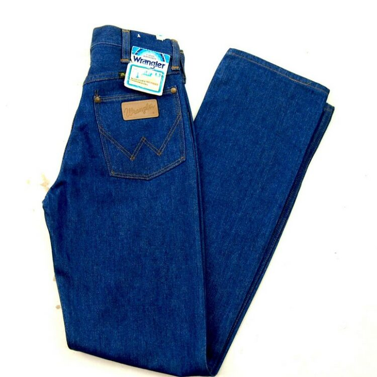 70s Deadstock Wrangler No Fault Fashion Jeans