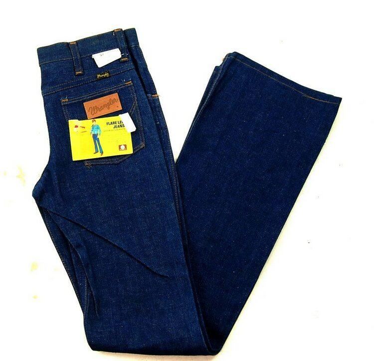 70s Deadstock Wrangler Flare Leg Jeans WPL 6428