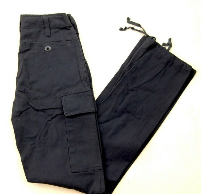 Black Army Trousers Womens