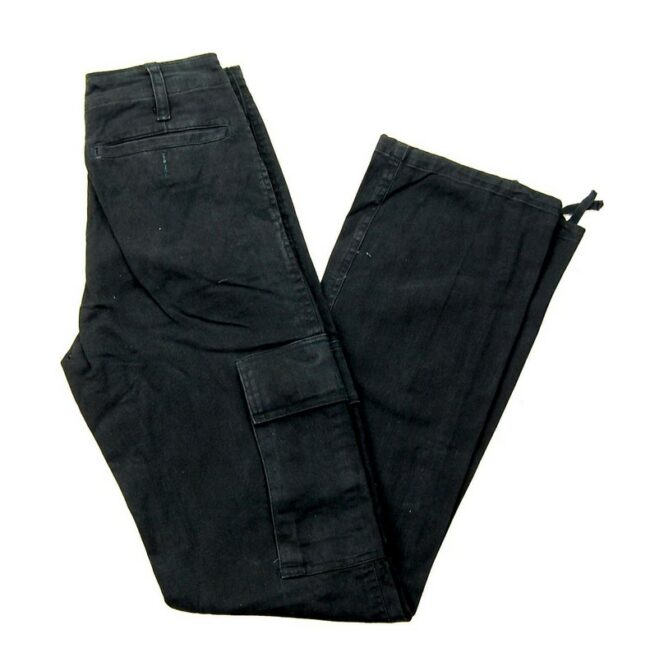 Black Army Trousers
