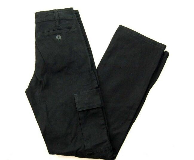 Black Cargo Pants Womens