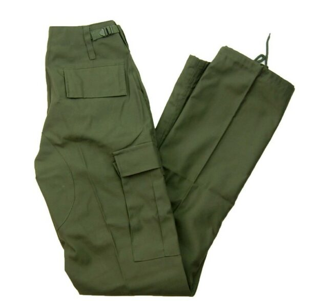 Olive Vintage Army Trousers