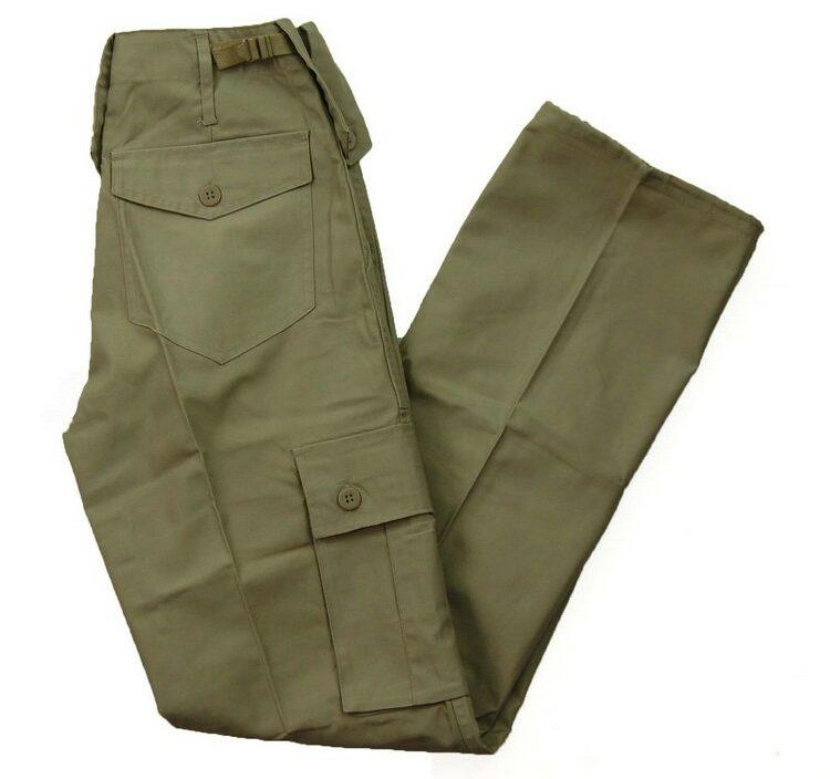 Khaki Vintage Army Trousers