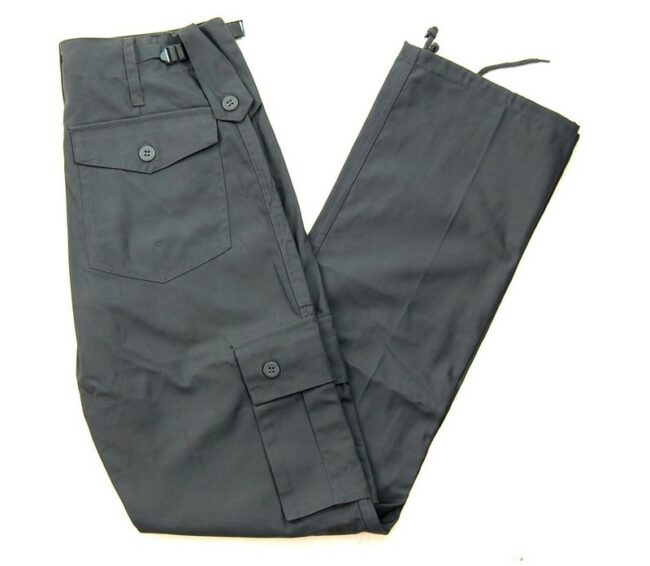 Grey Vintage Army Trousers