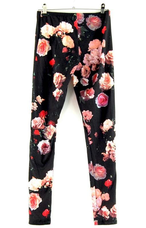 Back of Adidas Vintage Floral Leggings