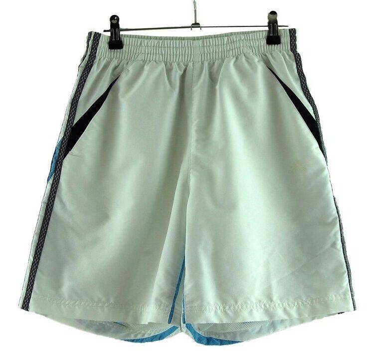 Mens White Adidas Shorts