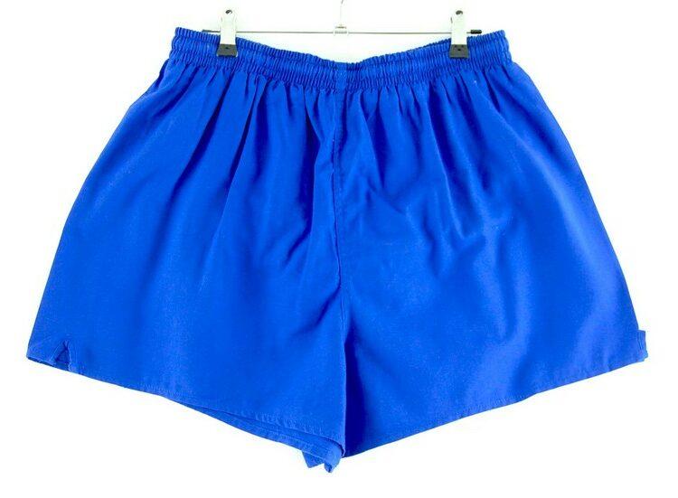 Mens Blue Stretch Shorts