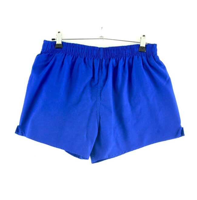 Mens Blue Gym Shorts