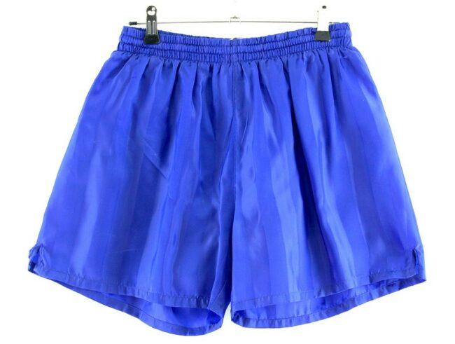 Rodeo Blue Satin Shorts