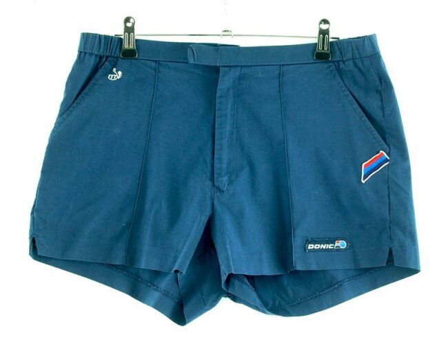 Mens Blue Donic Shorts