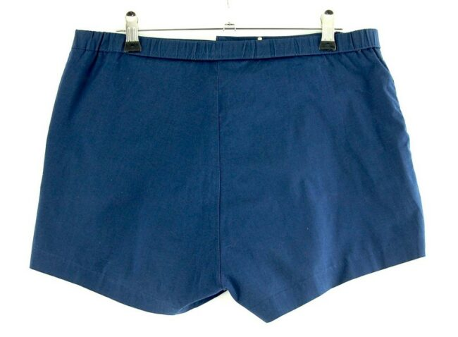 Back of Mens Blue Donic Shorts