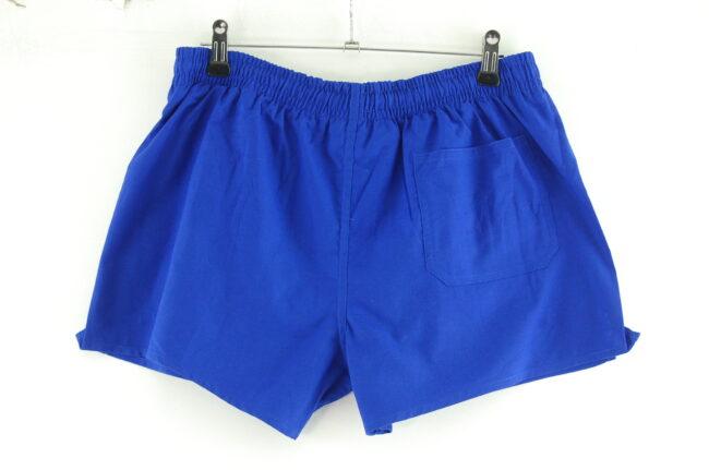 Back of Blue Sports Shorts