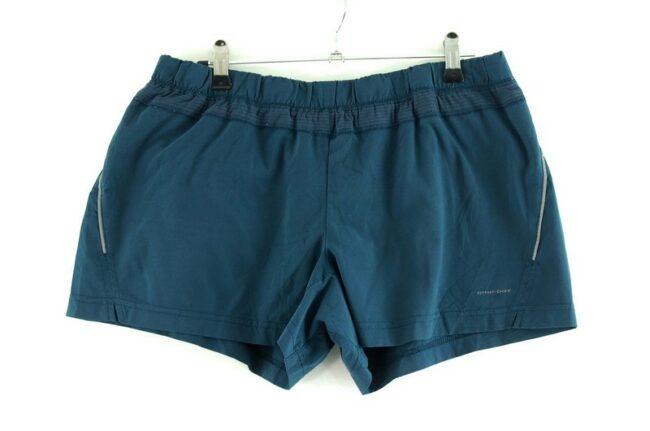Blue Omni Dry Columbia Shorts Women
