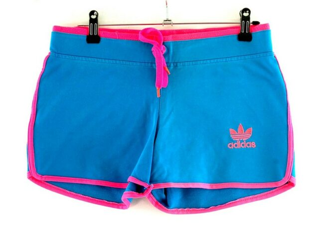 Pink Adidas Trefoil Shorts
