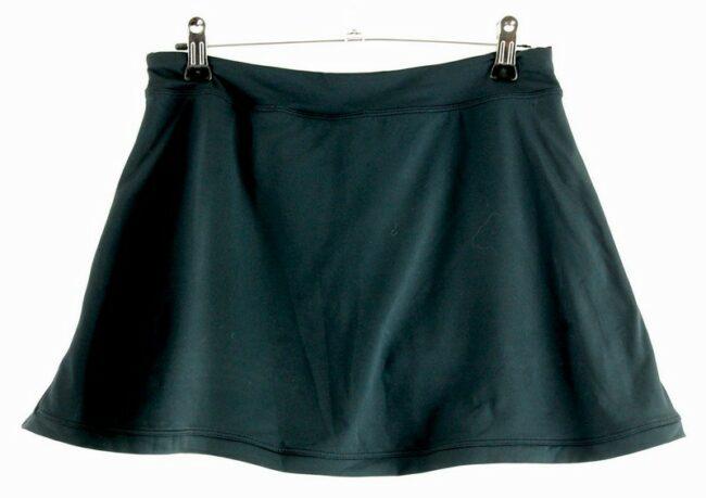 Back of Black Nike Skirt