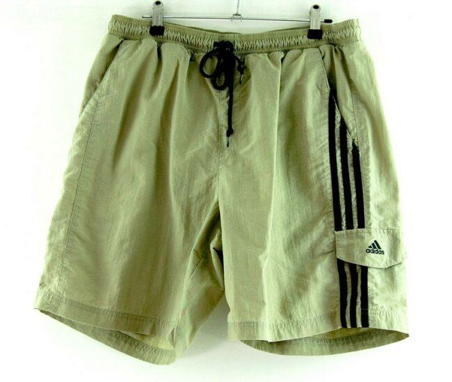 Mens Beige Adidas Shorts