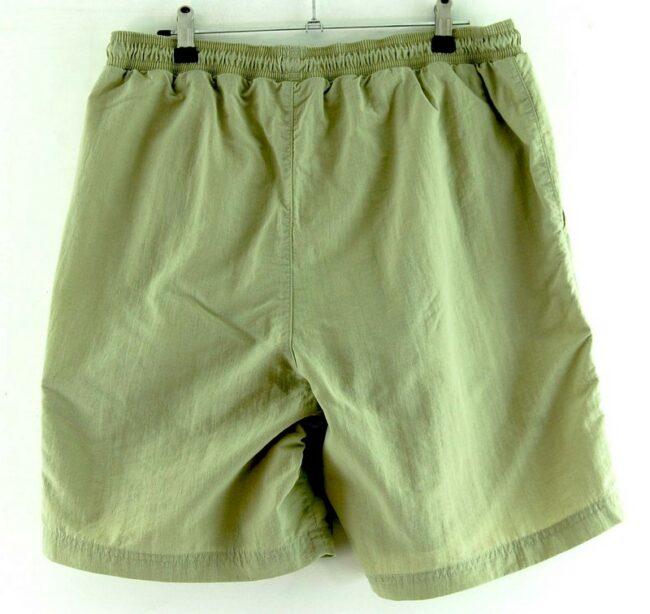 Back of Mens Beige Adidas Shorts
