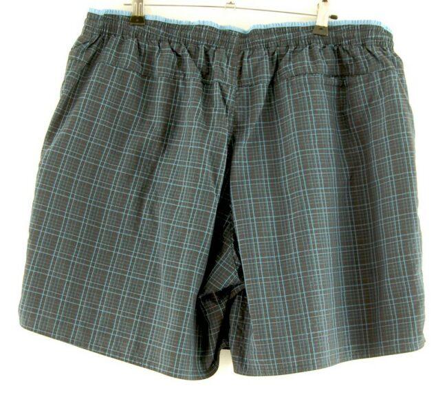 Back of Adidas Check Shorts