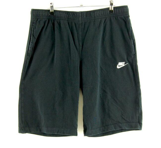 Nike Black Cotton Shorts