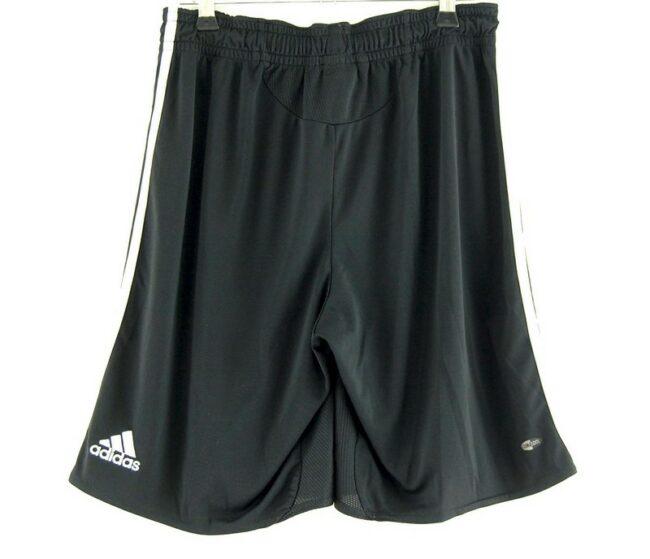 Back of German Football Association Black Adidas Shorts