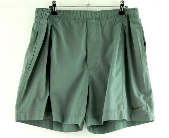 Nike Grey Cotton Shorts