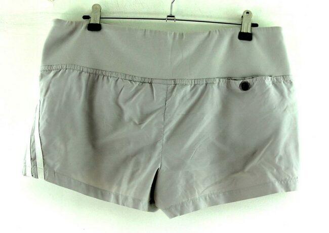 Back of Mens Grey Adidas Shorts