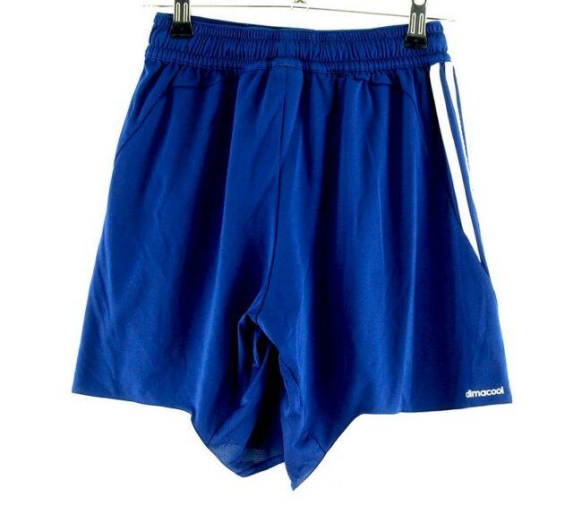 Back of Adidas Climacool Shorts Blue
