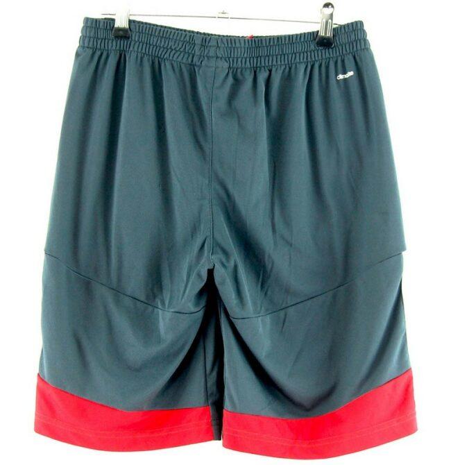 Back of Adidas Black Climalite Shorts