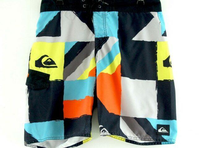 Close up of Vintage Quicksilver Shorts
