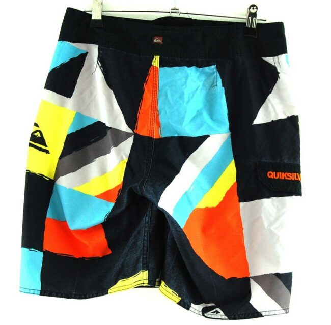 Back of Vintage Quicksilver Shorts