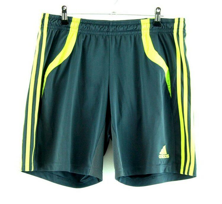 Climacool Adidas 3 stripe Shorts Green
