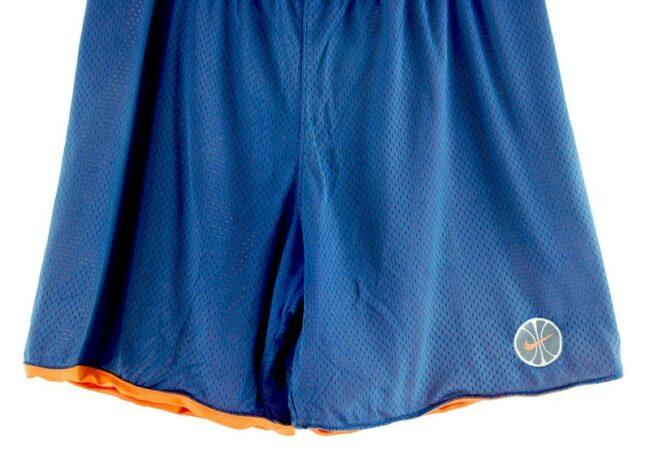 Close up of Nike Mesh Basketball Shorts