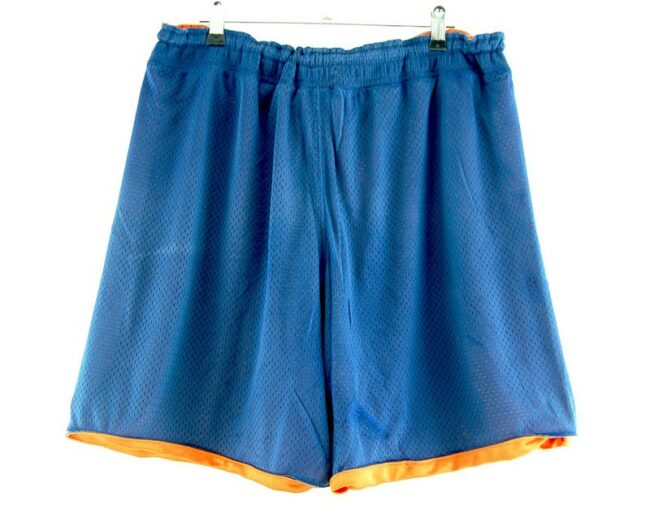 Back of Nike Mesh Basketball Shorts