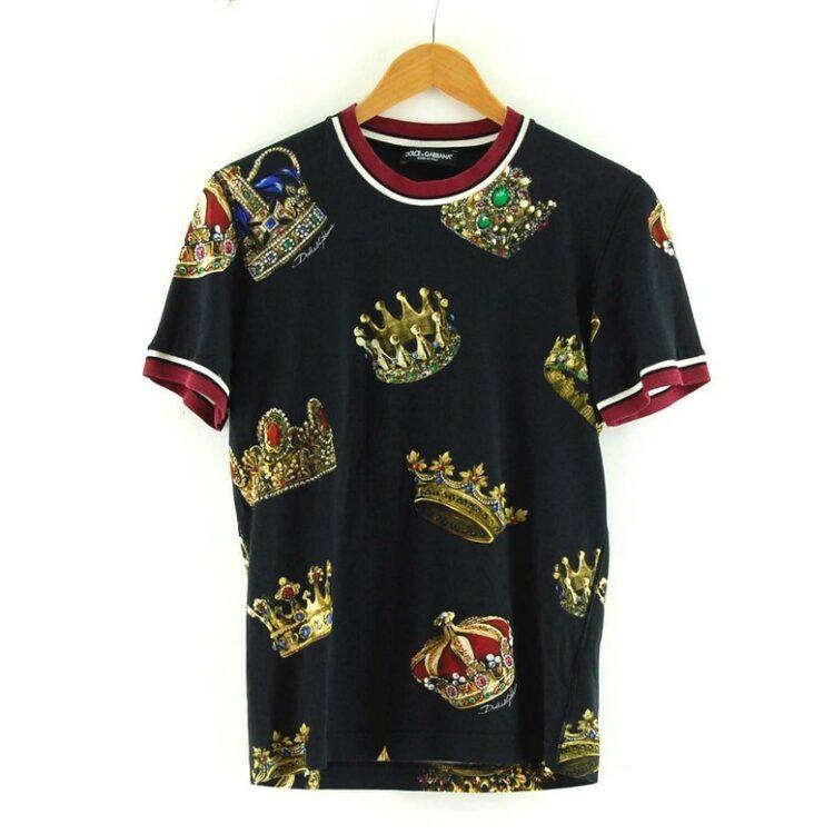 Black Crown Dolce Gabbana Tee