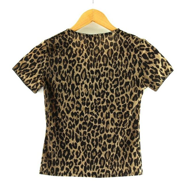 Back of Dolce And Gabbana Animal Print Top