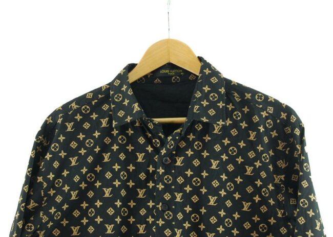 Close up of Louis Vuitton Shirt Men