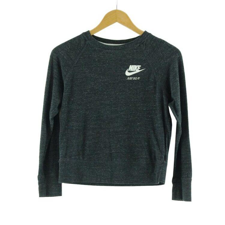 Womens Grey Nike Top