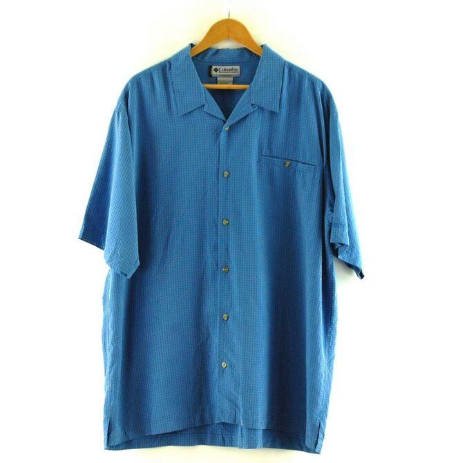 Blue Short Sleeve Columbia GRT Shirt