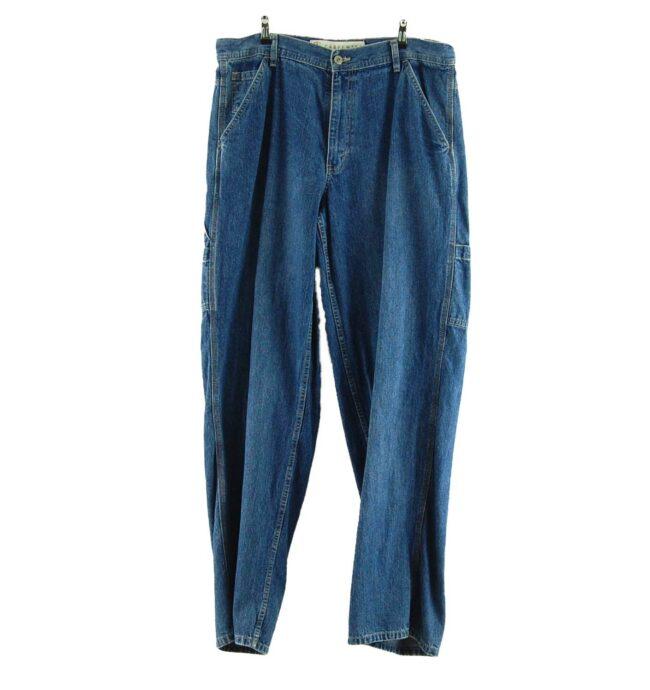 Front of Mens Arizona Denim Carpenter Jeans