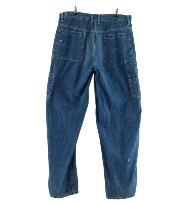 Back of Mens Arizona Denim Carpenter Jeans